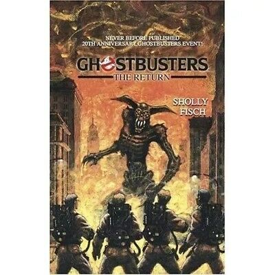 Ghostbusters: The Return Paperback Novel By Sholly Fisch 2004