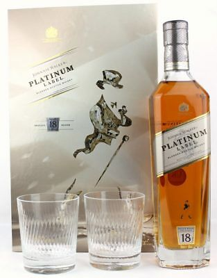 Johnnie Walker Platinum Label 18 yo. Limited Edition Design