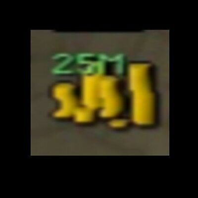 Old School Runescape Gold 25M   Coins   GP   OSRS   FAST DELIVERY,