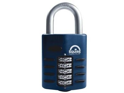 Squire CP60 Standard Shackle Heavy Duty Combination Padlock