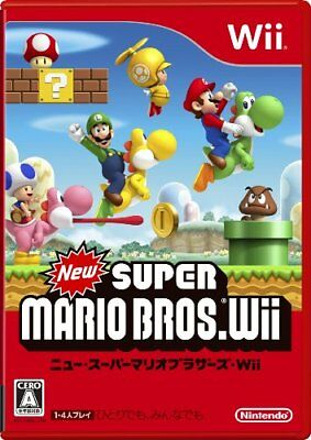 USED ​​Wii New Super Mario Bros. Wii Normal Edition Japan import