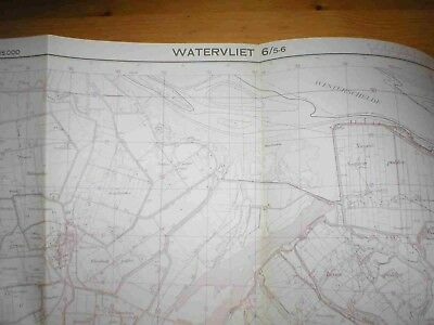 Carte Ign Kaart 06/5-6 - Watervliet - 1/25000