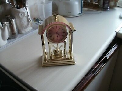 Mantel Clock (Gold Colour )