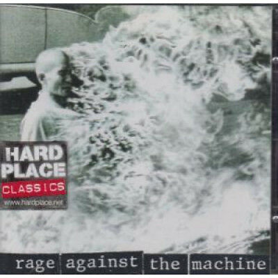 RAGE AGAINST THE MACHINE S/T CD Europe Epic 1992 10 Track (4722242) Sticker On