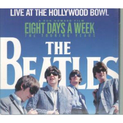 BEATLES Live At The Hollywood Bowl CD Europe Apple 2016 17 Track In Gatefold