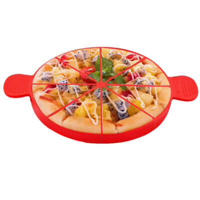 8 Triangle Cavity Portion Cake Mold Slices Pastry Pizza Pan Silicone Mould Home