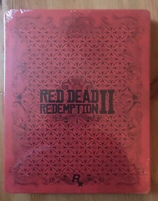 Steelbook Red Dead Redemption 2 ~ Nuova ~ No Gioco (Ps4 Xbox One)