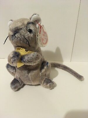 48915b8ddaa TY BEANIE BABY Cheddar The Mouse Complete With Tags - £9.99 ...