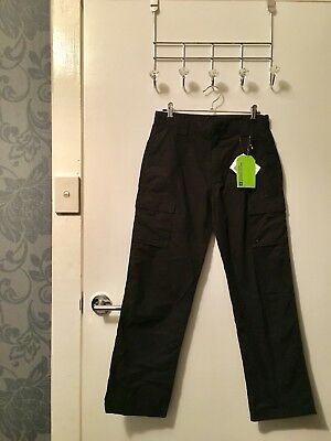 MOUNTAIN WAREHOUSE Black Active Youth Trousers x2 Child Size 10 - 12 AU BNWT