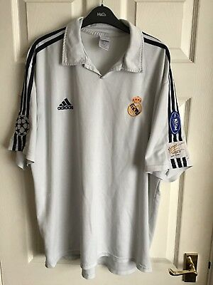 Real Madrid Centenary Football Shirt Size XL