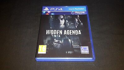 Hidden Agenda - Sony Playstation 4 Game - PS4 - Boxed and Tested