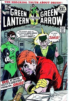 Green Lantern #85  DC Comic Special Drug Issue Speedy Neal Adams-NO RESERVE