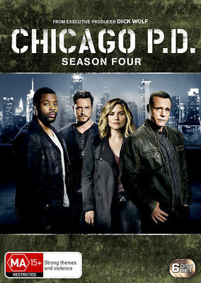 Chicago P.d. Season 4 Australian Release Region 4 Brand New & Sealed