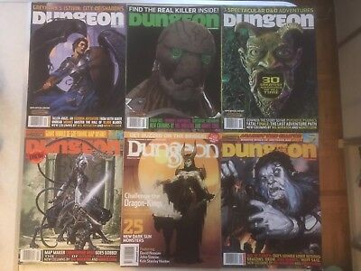 Dungeon Magazines (Paizo) - Pack of 23 issues - D&D 3rd official adventures