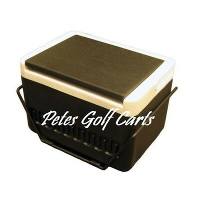 Club Car DS Golf Cart 12 Qt Igloo Cooler With Fender Mounting Bracket