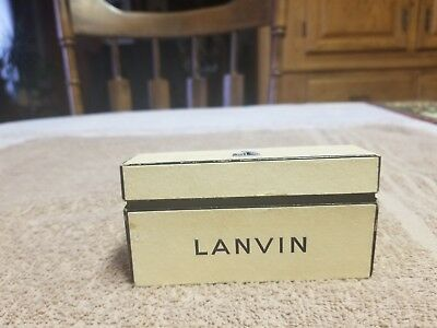 rare lanvin parfums paris france 4 mini bottles exrait of lanvin in mini box