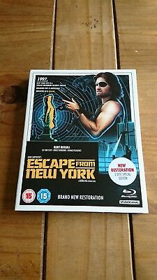 Escape From New York Remastered Blu ray