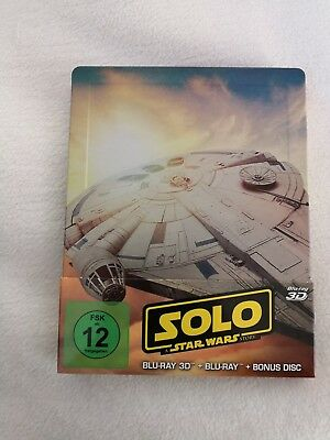 """""""Solo: A Star Wars Story 3D"""", Blu-ray Steelbook, sehr guter Zustand."""