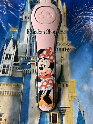 Disney Parks Minnie Mouse Millennial Pink Magic Band 2 Magicband Link It Later