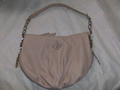 933298f25277 Simply Vera Wang Pink Pebble Leather Hobo Satchel Handbag Purse