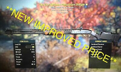 Fallout 76 Xbox One 2-3* Legendary Two Shot Explosive Weapons, TSE, Items