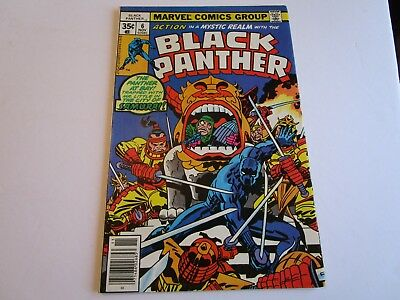 1977 Black Panther # 6 In In  Very Fine  Condition With The Samurai