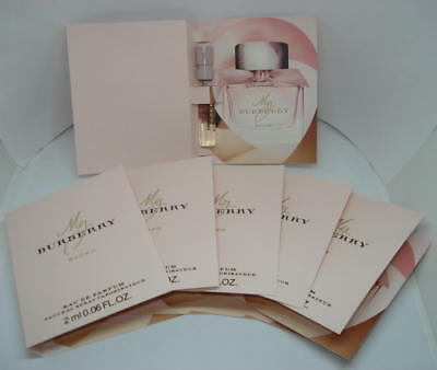 6 ECHANTILLONS MY BURBERRY BLUSH - 02 ML Eau de Parfum TIGETTES VAPO - SAMPLE
