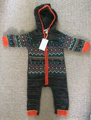 New Boots Mini Club Knitted Baby Grow 6-9 Months