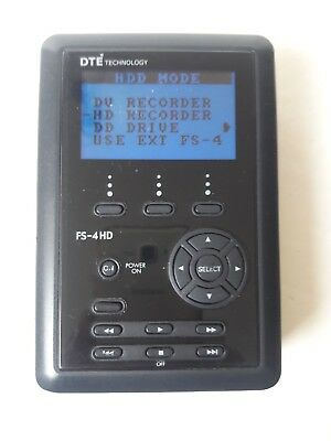Focus Enhancements FireStore FS-4 HD, Portable Direct To Edit DTE Recorder