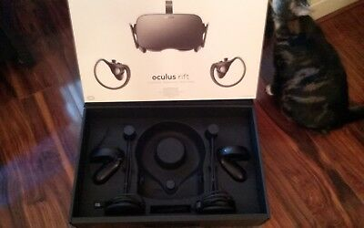 Oculus Rift VR Virtual Reality - 2 Touch Controllers and 2 Sensors ONLY