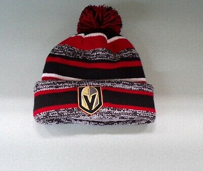22c24067fc5 New Era Vegas Golden Knights NHL Hockey Embroidered Knit Beanie Hat New