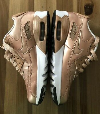 cheap for discount 7e56a 848f9 GIRLS NIKE AIR Max 90 Rose Gold Rare - $45.00 | PicClick