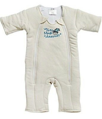 Baby Merlin's Magic Sleepsuit CreamSleep Sack S 3-6 months Swaddling Night