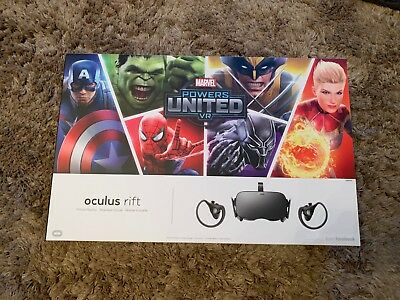 Oculus RiftVirtual Reality Headset MARVEL Powers United VR Special Edition