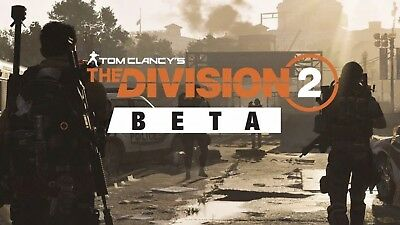 The Division 2 /Betas/Codes Ps4-Pc-Xbox Worldwide