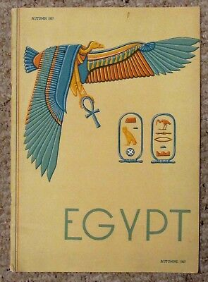 Magazine Book Majesty Farouk I Welcomes You To Egypt, Nubia, Sudan, Autumn 1937