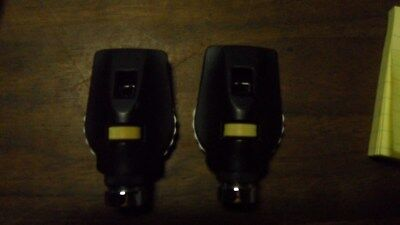 welch allyn Ophthalmoscope/otoscope head large lot