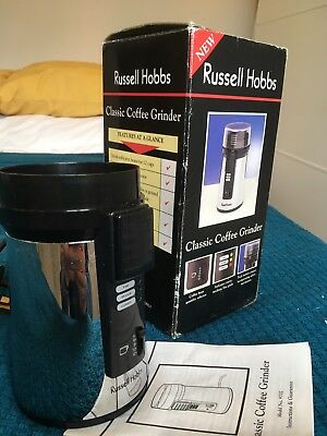 Russell Hobbs Classic Coffee Grinder - No Lid