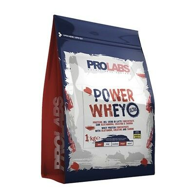 Prolabs Power Whey Ultra 1Kg Cacao Proteine Del Siero Di Latte Con Creatina