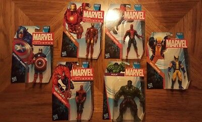Lot of 6 Marvel Universe Family Dollar exclusive figures all MIP