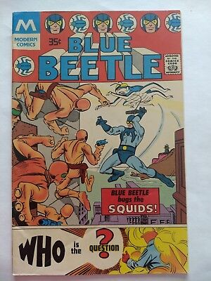 Blue Beetle #1 (with The Question) Modern Comics Reprint Steve Ditko