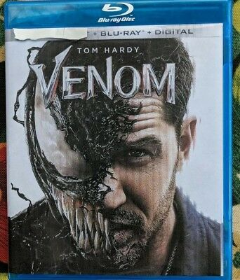 VENOM (BLU-RAY+DIGITAL) brand new unused disc see details