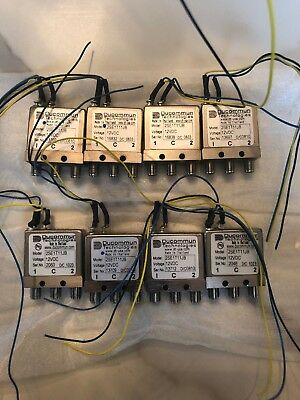 Ducommun 2SE1T11JB 12VDC latching spdt sma relay  - LOT Of 8