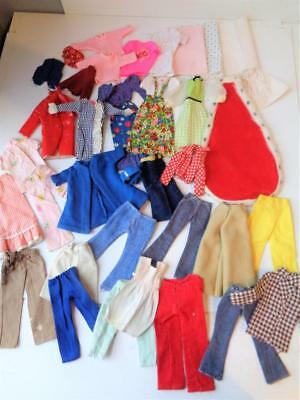 Vintage 1960s-70s Fashion Doll Clothes for Barbie Francie Stacey Christie MOD