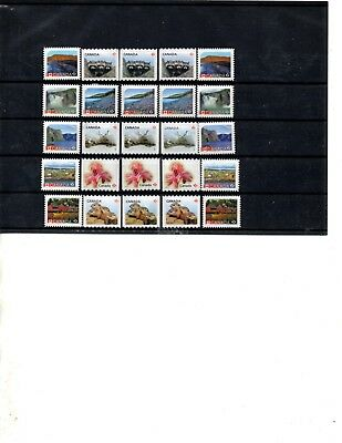 "Canada 25 ""p"" Uncancelled Stamps Fv Of $25.95 ( Offer 0348)"