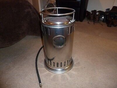 A Refleks diesel marine heater/stove with brass viewing window, great condition