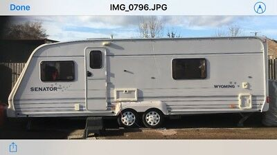 2001 bailey senator Wyoming 4 berth twin axle caravan