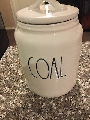 Rae Dunn Coal Canister New Christmas Holiday 2018