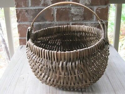 Appalachian Buttocks Basket And Directions