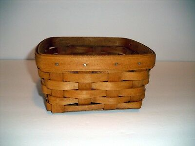 Longaberger 1994 Medium Berry No Handle Basket